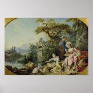 The Shepherd's Gift or, The Nest Print