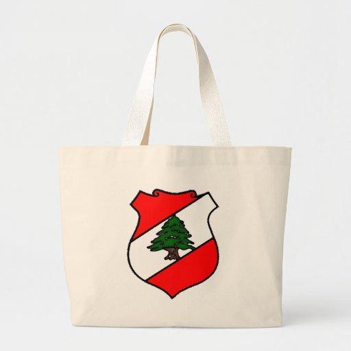 The Shield of Lebanon Bags