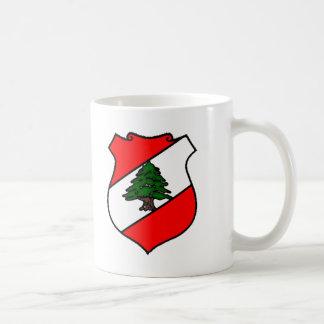 The Shield of Lebanon Basic White Mug