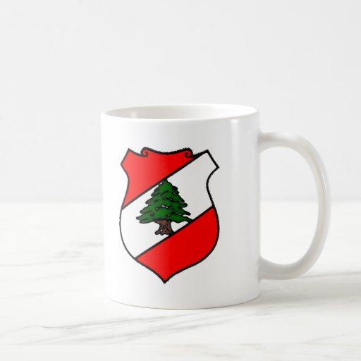 The Shield of Lebanon Mugs