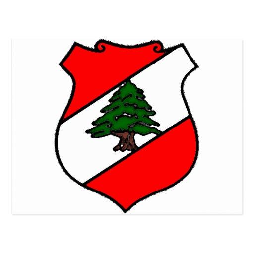The Shield of Lebanon Postcards