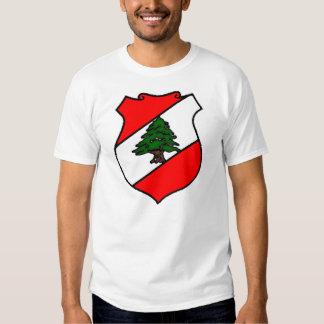 The Shield of Lebanon T Shirts