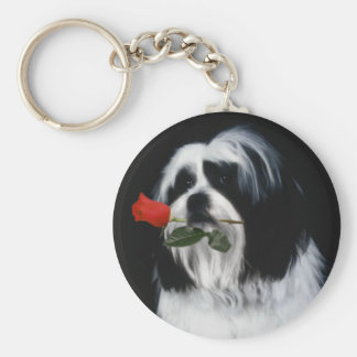 The Shih Tzu Dog Key Ring