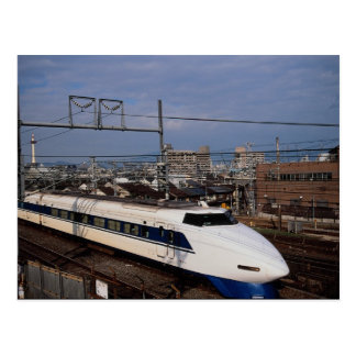 The Shinkansen or Bullet Train, Kyoto, Japan Postcard