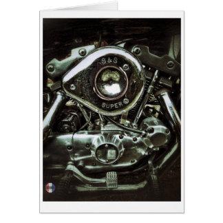 The shiny engine card