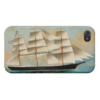 The Ship Fleetwing, Hong Kong Bay iPhone 4/4S Cover