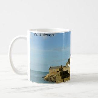 The Ship Inn Porthleven Cornwall England Basic White Mug