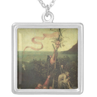 The Ship of Fools, c.1500 Silver Plated Necklace