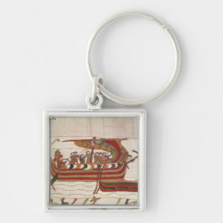 The Ships are Blown by the Winds Key Ring