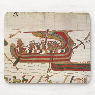 The Ships are Blown by the Winds Mouse Mat