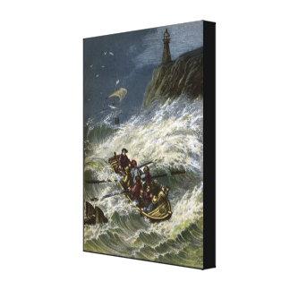 The Shipwreck 1 Canvas Print
