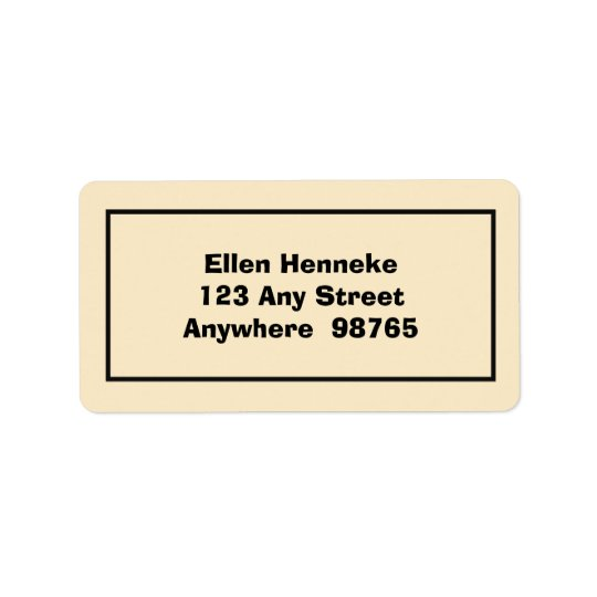 The Shipwreck 2 Address Label