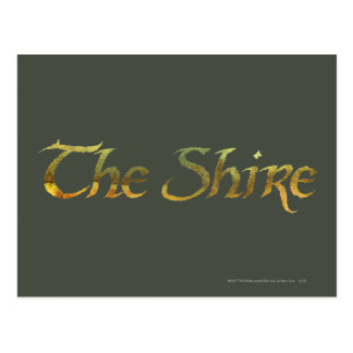 THE SHIRE™ Name Textured Postcard