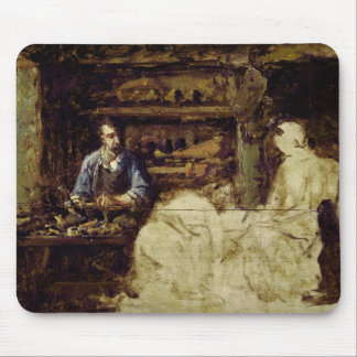 The Shoemaker of Reville, a town near Cherbourg Mouse Mat