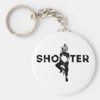 The Shooter - Photographer Key Ring