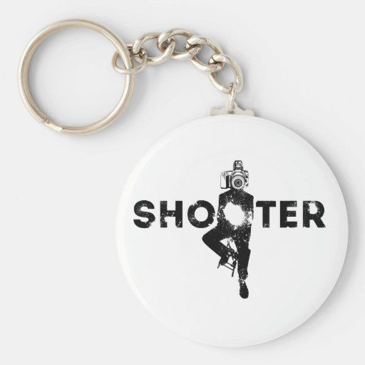The Shooter - Photographer Key Chain