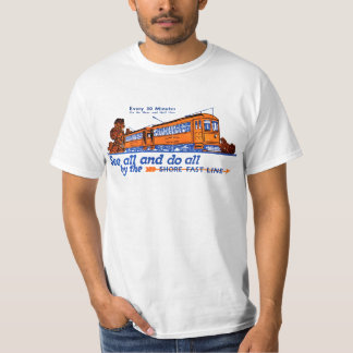 The Shore Fast Line Trolley Service T-Shirt