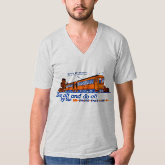 The Shore Fast Line Trolley Service T-shirts