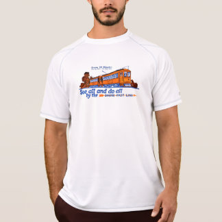 The Shore Fast Line Trolley Service Tee Shirts