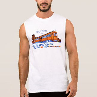 The Shore Fast Line Trolley Service Sleeveless Tee