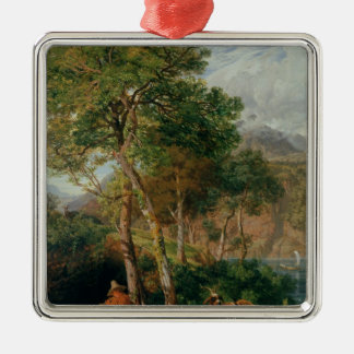 The Shores of Lake Lecco Christmas Ornament