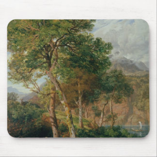 The Shores of Lake Lecco Mouse Pad
