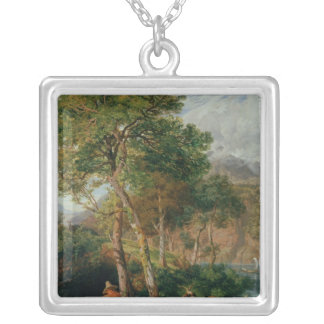 The Shores of Lake Lecco Silver Plated Necklace
