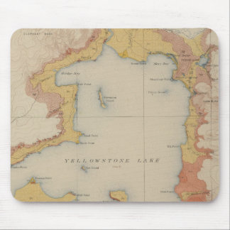 The Shores of Yellowstone Lake Mousepads