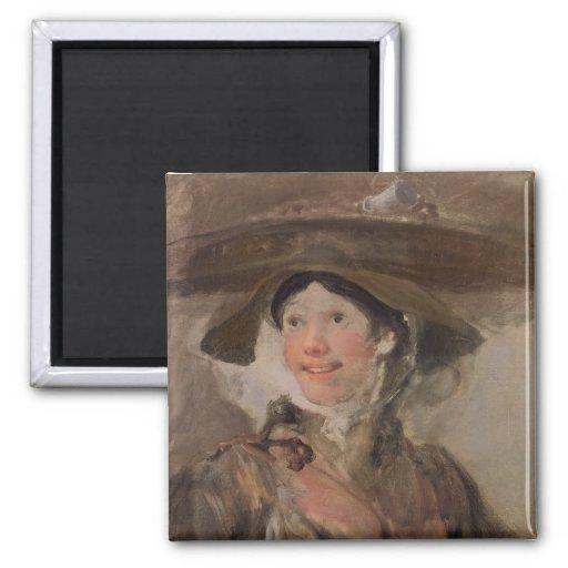 The Shrimp Girl, c.1745 Fridge Magnet