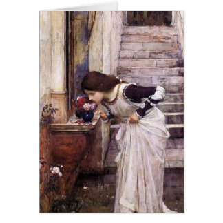 The Shrine  by John William Waterhouse Card