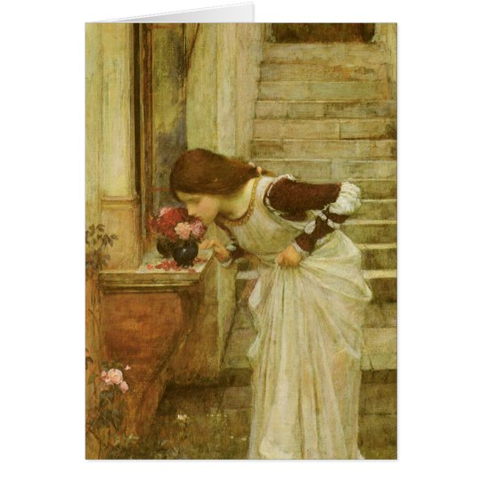 The Shrine by JW Waterhouse, Vintage Victorian Art