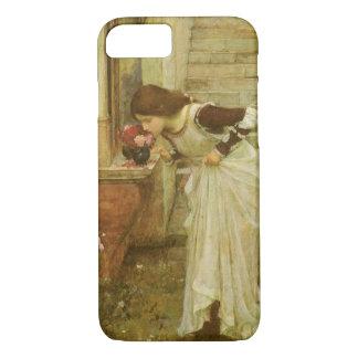 The Shrine by JW Waterhouse, Vintage Victorian Art iPhone 8/7 Case