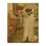 The Shrine by JW Waterhouse, Vintage Victorian Art Wood Canvases