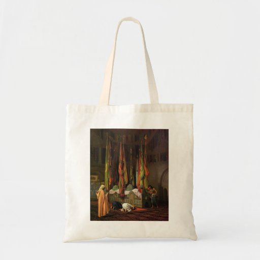 The Shrine of Imam Hussein by Jean-Leon Gerome Tote Bag