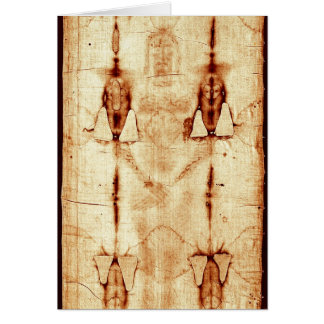 The Shroud of Turin Card