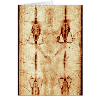 The Shroud of Turin Greeting Card