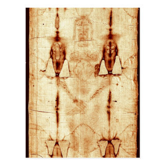 The Shroud of Turin Postcard