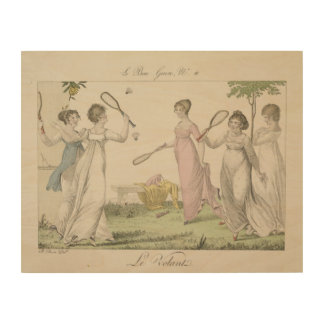 The Shuttlecock, plate 11 from 'Le Bon Genre', 180 Wood Prints