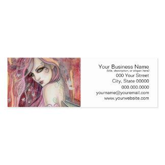 The Shy Flirt Modern Fairy Fantasy Art Pack Of Skinny Business Cards