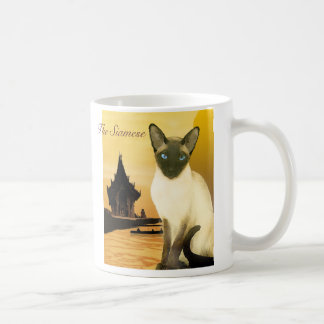 The Siamese Basic White Mug