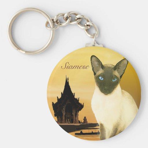 The Siamese Keychain
