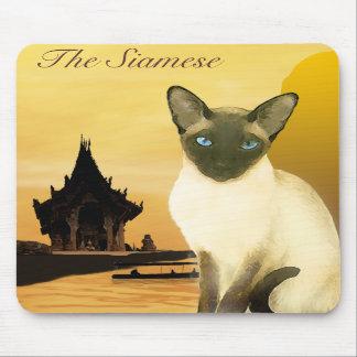 The Siamese Mousepad
