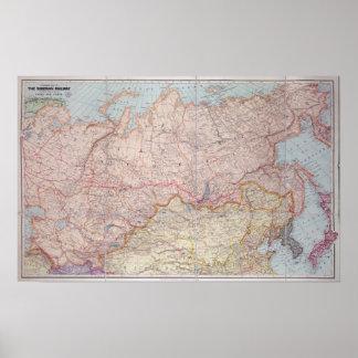 The Siberian Railway Poster