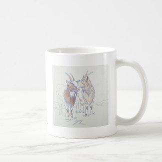 The siblings basic white mug