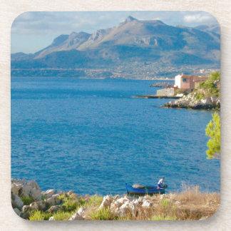 The Sicilian Fisherman Coaster