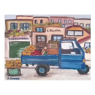 The Sicilian roving vendor's - Postcard