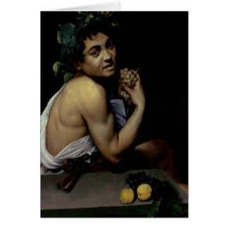 The Sick Bacchus, 1591 Greeting Cards