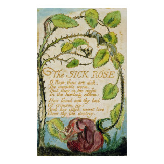 The Sick Rose, from Songs of Innocence Poster
