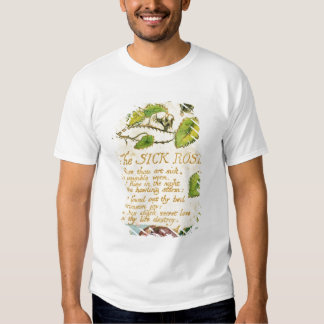 The Sick Rose, from Songs of Innocence Tshirts