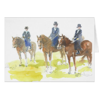The side saddle class card